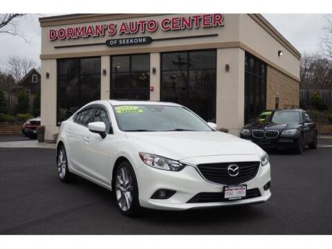 2017 Mazda MAZDA6 for sale at DORMANS AUTO CENTER OF SEEKONK in Seekonk MA