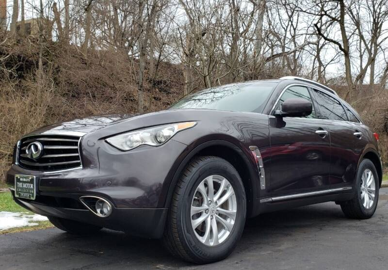 2012 Infiniti FX35 for sale at The Motor Collection in Columbus OH