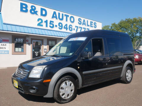 2013 Ford Transit Connect for sale at B & D Auto Sales Inc. in Fairless Hills PA