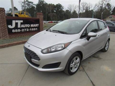 2019 Ford Fiesta for sale at J T Auto Group in Sanford NC