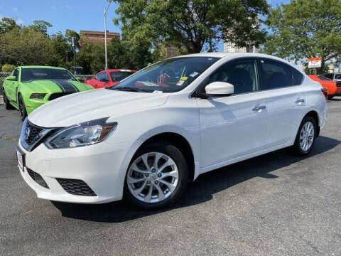 2018 Nissan Sentra for sale at Sonias Auto Sales in Worcester MA