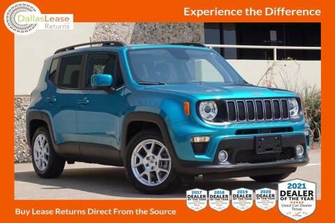 2019 Jeep Renegade for sale at Dallas Auto Finance in Dallas TX