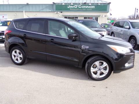 2015 Ford Escape for sale at Jim O'Connor Select Auto in Oconomowoc WI