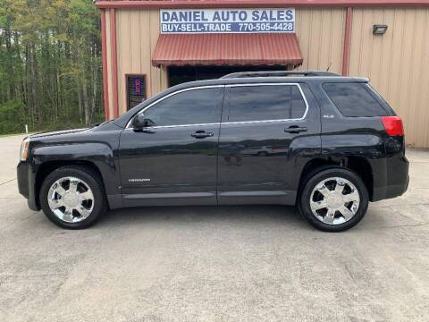 2011 GMC Terrain for sale at Daniel Used Auto Sales in Dallas GA