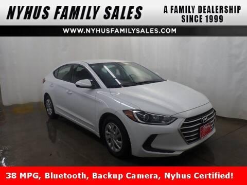 2018 Hyundai Elantra for sale at Nyhus Family Sales in Perham MN