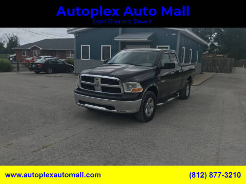 2009 Dodge Ram Pickup 1500 for sale at Autoplex Auto Mall in Terre Haute IN