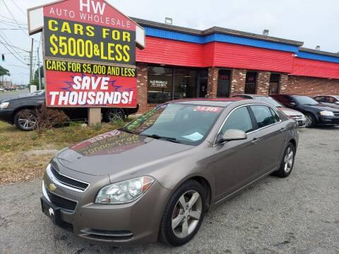 2011 Chevrolet Malibu for sale at HW Auto Wholesale in Norfolk VA