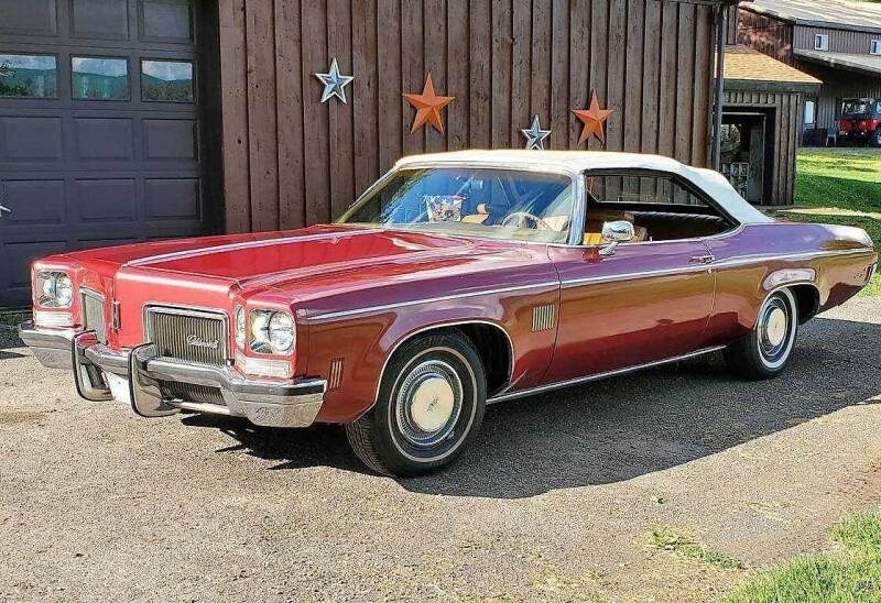 1972 Oldsmobile Delta Eighty-Eight Royale for sale at Great Lakes Classic Cars & Detail Shop in Hilton NY