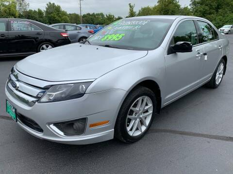 2012 Ford Fusion for sale at FREDDY'S BIG LOT in Delaware OH