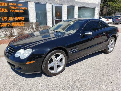 2005 Mercedes-Benz SL-Class for sale at Anytime Auto in Muskegon MI