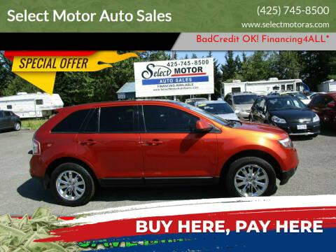 2008 Ford Edge for sale at Select Motor Auto Sales in Lynnwood WA
