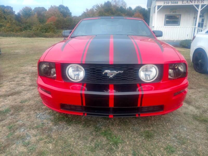 2007 Ford Mustang for sale at Lanier Motor Company in Lexington NC