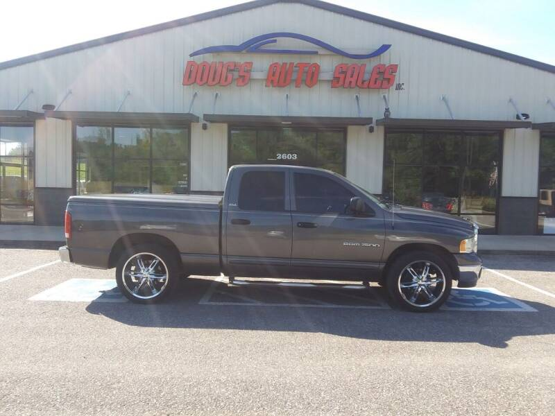 2002 Dodge Ram Pickup 1500 for sale at DOUG'S AUTO SALES INC in Pleasant View TN