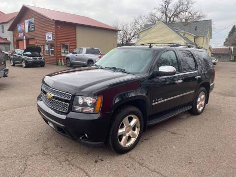2009 Chevrolet Tahoe for sale at WB Auto Sales LLC in Barnum MN
