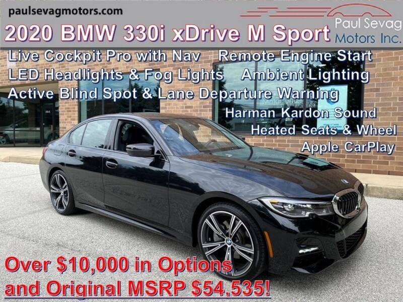 2020 BMW 3 Series for sale at Paul Sevag Motors Inc in West Chester PA