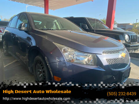 2014 Chevrolet Cruze for sale at High Desert Auto Wholesale in Albuquerque NM