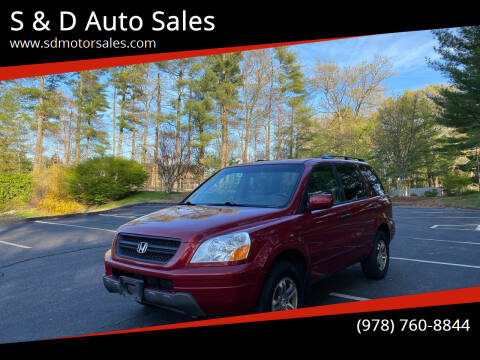 2005 Honda Pilot for sale at S & D Auto Sales in Maynard MA