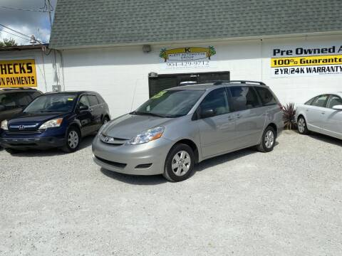2006 Toyota Sienna for sale at Klett Automotive Group in Saint Augustine FL