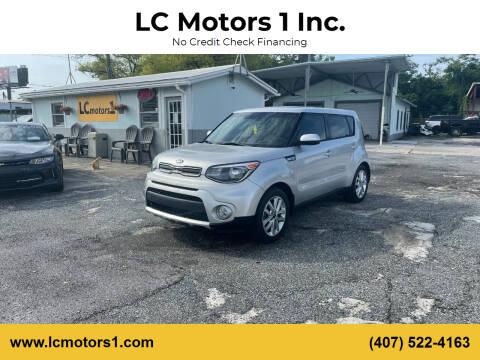 2017 Kia Soul for sale at LC Motors 1 Inc. in Orlando FL