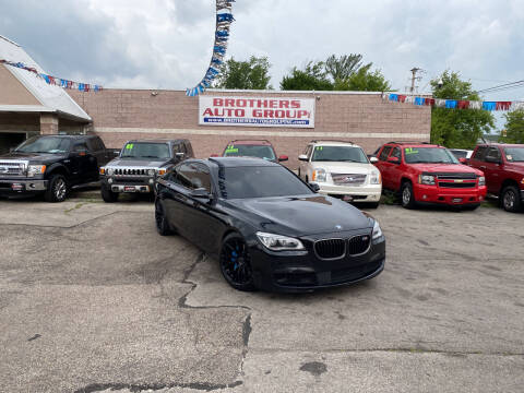 2013 BMW 7 Series for sale at Brothers Auto Group in Youngstown OH