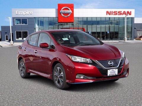 2021 Nissan LEAF for sale at EMPIRE LAKEWOOD NISSAN in Lakewood CO