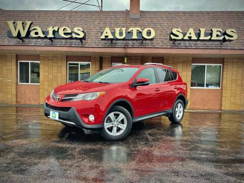 2013 Toyota RAV4 for sale at Wares Auto Sales INC in Traverse City MI