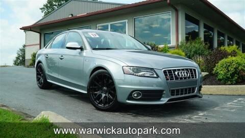 2011 Audi S4 for sale at WARWICK AUTOPARK LLC in Lititz PA