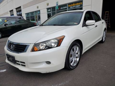 2008 Honda Accord for sale at M & M Auto Brokers in Chantilly VA