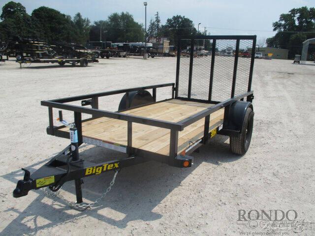 2022 Big Tex Single Axle Utility 30SA-10BK4 for sale at Rondo Truck & Trailer in Sycamore IL