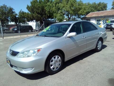 2006 Toyota Camry for sale at Larry's Auto Sales Inc. in Fresno CA