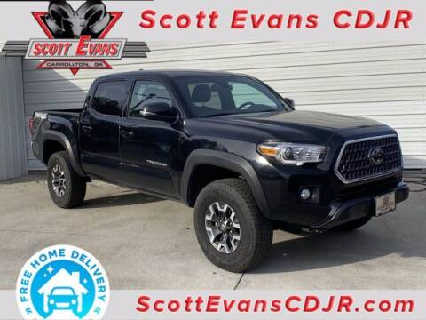 2019 Toyota Tacoma for sale at SCOTT EVANS CHRYSLER DODGE in Carrollton GA