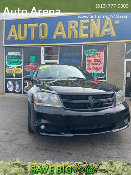 2013 Dodge Avenger for sale at Auto Arena in Fairfield OH