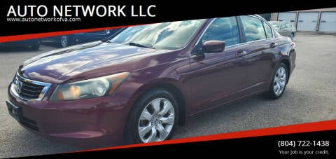 2009 Honda Accord for sale at AUTO NETWORK LLC in Petersburg VA