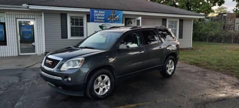 2012 GMC Acadia for sale at 369 Auto Sales LLC in Murfreesboro TN