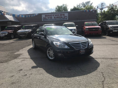 2009 Hyundai Genesis for sale at Brothers Auto Group in Youngstown OH