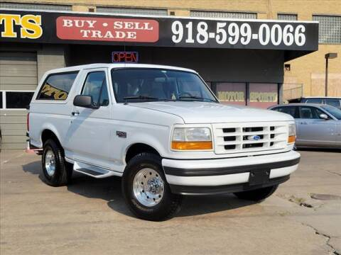 1994 Ford Bronco for sale at KC MOTORSPORTS in Tulsa OK