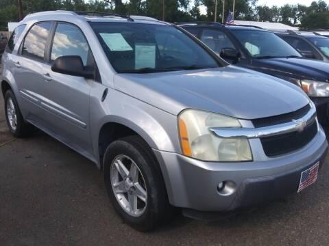 2005 Chevrolet Equinox for sale at L & J Motors in Mandan ND
