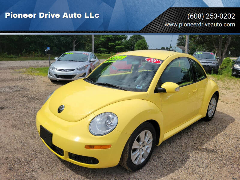 2008 Volkswagen New Beetle for sale at Pioneer Drive Auto LLc in Wisconsin Dells WI