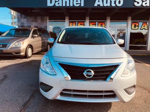 2016 Nissan Versa for sale at Daniel Auto Sales inc in Clinton Township MI