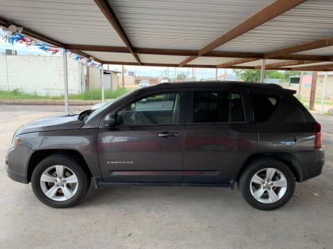2014 Jeep Compass for sale at Kann Enterprises Inc. in Lovington NM