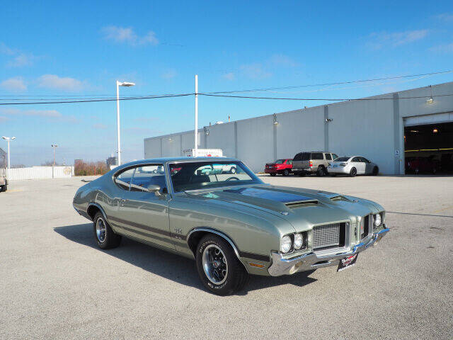 1972 Oldsmobile Cutlass for sale at Bill Kay Corvette's and Classic's in Downers Grove IL