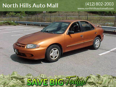 2004 Chevrolet Cavalier for sale at North Hills Auto Mall in Pittsburgh PA