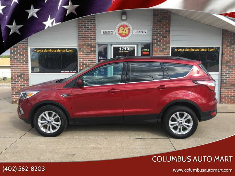 2018 Ford Escape for sale at Columbus Auto Mart in Columbus NE