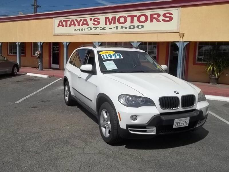 2007 BMW X5 for sale at Atayas Motors INC #1 in Sacramento CA
