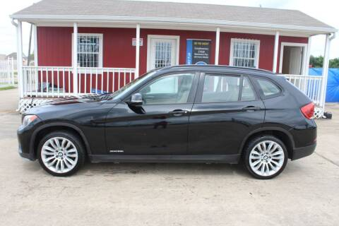 2015 BMW X1 for sale at AMT AUTO SALES LLC in Houston TX