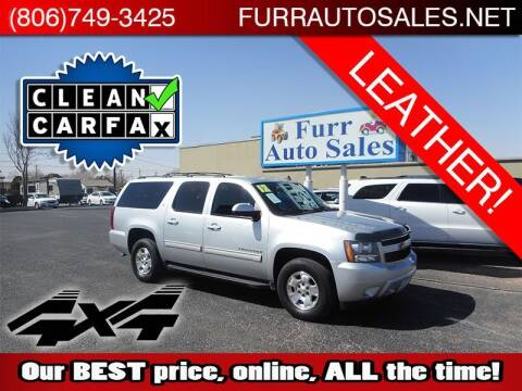 2012 Chevrolet Suburban for sale at FURR AUTO SALES in Lubbock TX