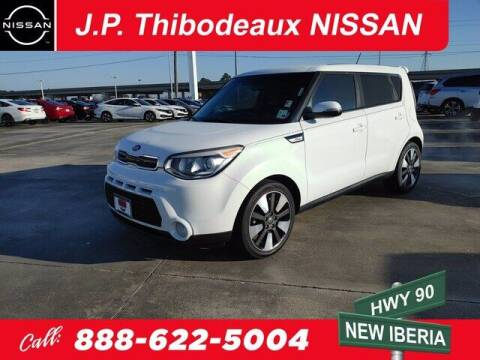 2015 Kia Soul for sale at J P Thibodeaux Used Cars in New Iberia LA