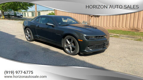 2014 Chevrolet Camaro for sale at Horizon Auto Sales in Raleigh NC