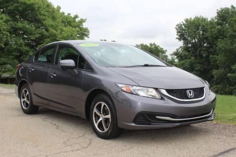 2015 Honda Civic for sale at Harrison Auto Sales in Irwin PA