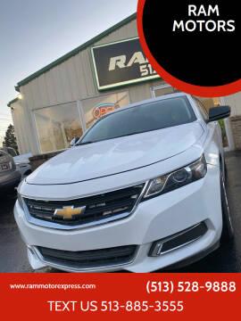 2015 Chevrolet Impala for sale at RAM MOTORS in Cincinnati OH